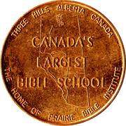 Three Hills, Alberta - Commemorative Coin – avers
