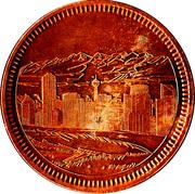 Calgary, Alberta - Centennial Medallion – avers