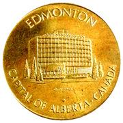 Edmonton Canada Token – revers