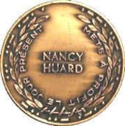 1986 24 June Quebec National Day - Nancy Huard Medals – revers