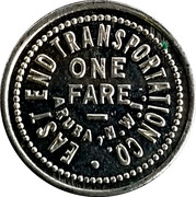 One Fare - East End Transportation Co. – revers