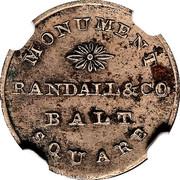 Hard Times Merchant Token - Randall & Co - Baltimore, MD – revers