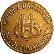 Token - Halifax-Dartmouth Bridge Commission – avers