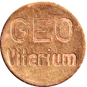 Public Swimming Pool Token - Geo Vitarium (Gerolzhofen) – avers