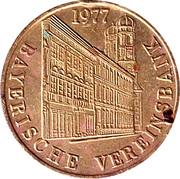 Token - Bayerische Vereinsbank (1977) – avers