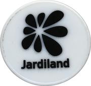 Jeton de chariot Jardiland – avers