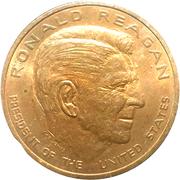 Ronald Reagan Inaugurated -  avers
