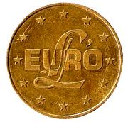 Jeton - L'euro -  avers