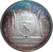 Jeton Agents de change de Lyon (1816) – avers