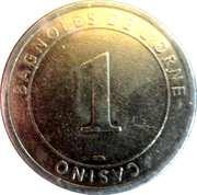 Casino Bagnoles-de-l'Orne (61) - 1 euro -  avers