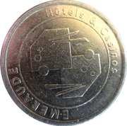 Casino Bagnoles-de-l'Orne (61) - 1 euro -  revers