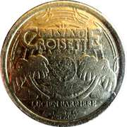 Casino Croisette Cannes (06) - 10 francs – avers