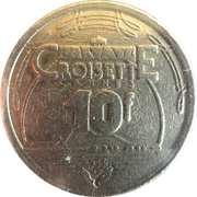 Casino Croisette Cannes (06) - 10 francs – revers