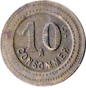 10 Centimes (À consommer) – revers