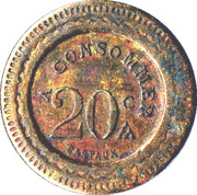 20 centimes - 220 - A consommer – revers