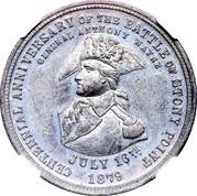 Dollar - Centennial Battle of Stony Point – avers