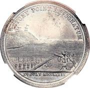 Dollar - Centennial Battle of Stony Point – revers