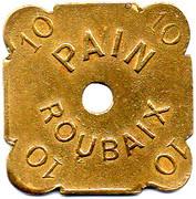 10 Pains - Coopérative Ouvrière La Paix - Roubaix [59] – revers