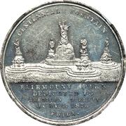Dollar - U.S. Centennial Exposition - Fountain – avers