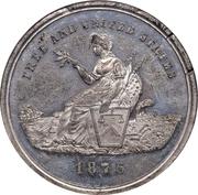 Dollar - U.S. Centennial Exposition - Liberty Seated – avers