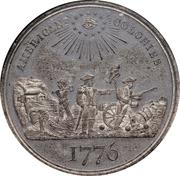 Dollar - U.S. Centennial Exposition - Liberty Seated – revers