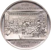 Dollar - U.S. Centennial Exposition - Declaration of Independance -  avers