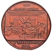 Dollar - U.S. Centennial Exposition Declaration of Independance -  avers