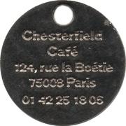 Jeton de chariot - Chesterfield café – revers