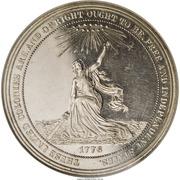 Dollar - US Centennial Exposition - Official Medal – avers