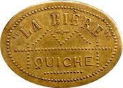 Quiche -La Bière - Paris [75] – revers