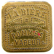 Pommes Vapeur - La Bière - Paris [75] – revers
