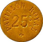 25 Centimes  - Pavillon Royal - Paris [75] – revers