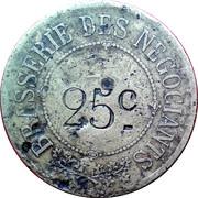 25 centimes - Brasserie des Négociants - Grenoble [38] – avers