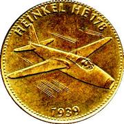 Jeton - Shell- L'épopée de l'espace - n° 10 - Heinkel HE178 -  avers