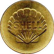 Jeton - Shell- L'épopée de l'espace - n° 10 - Heinkel HE178 -  revers