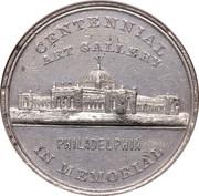Dollar - U.S. Centennial Exposition Art Gallery Building – avers