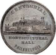 Dollar - U.S. Centennial Exposition Horticultural Hall Building – avers
