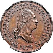 Dollar - George Hampden Lovett - Battle of Sullivan's Island – avers