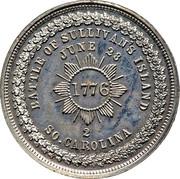 Dollar - George Hampden Lovett - Battle of Sullivan's Island – revers