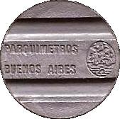 Parquímetros Buenos Aires – avers