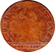 Louis XIV Token 1681 – revers