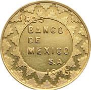 Token - Bank of Mexico - Aztec Scenes – avers