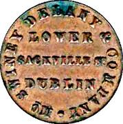 jeton - LOWER SACKVILLE St DUBLIN – avers