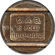 D.A.B. Token – avers