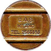 D.A.B. MILANO Token – avers