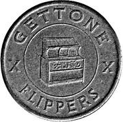 Jukebox Token - Gettone Apparecchi Elettrici (Sartori, Busto Ar.) – revers
