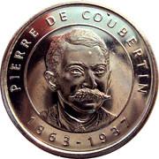 Token - I Grandi Protagonisti del Millennio (Pierre De Coubertin) – avers