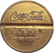 Coca - Cola _ Clerca Busto Arsizio – avers