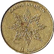 Casino Du Liban - LL 1000 -  avers