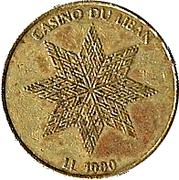 Casino Du Liban - LL 1000 -  revers
